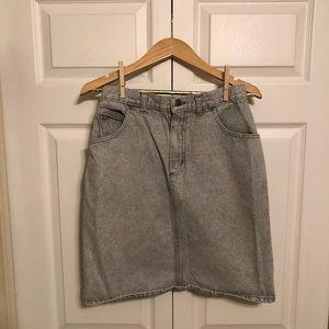 Forenza Skirts - Vintage Jean Skirt